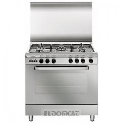 Cucina a gas con 5 fuochi